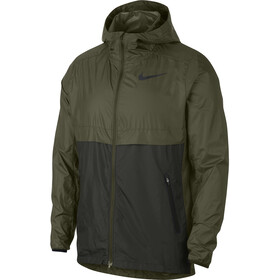 Nike Shield Running Jacket Men olive